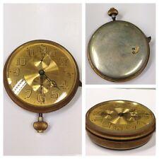 Reloj de bolsillo con despertador Suiza 8 Days RELOJ FUNCIONAL