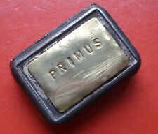 Primus Vintage Stove Match Safe Tin Redtop Match camping
