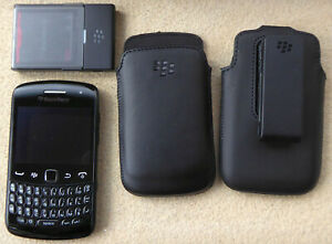 Blackberry Curve Phone 9360 with accessories