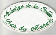 AUBERGE DE LA CAILLE bar du marais 74 Annecy écusson / patch 9X5 cm