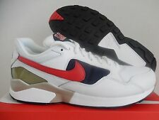 NIKE AIR PEGASUS 92 PREMIUM USA OLYMPIC WHITE-RED-BLUE SZ 11.5 [844964-100]