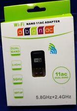 Wi-fi Nano 11AC Adapter 2.4GHz + 5.8GHz 802.11b/g/n/a/ac