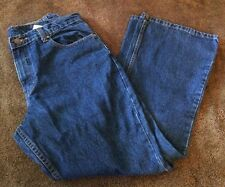 Jordache Denim Blue Jeans Pants Women's Size 13/14 Flare Leg