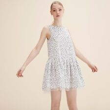 MAJE EMBROIDERED SLEEVELESS DRESS  T3/US6 Free shipping