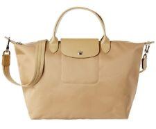 701d271b58aa 100 Authentic Longchamp Le Pliage Neo Top-handle Gold Medium Nylon Tote Bag