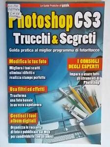 Photoshop CS3 Trucchi Segreti guida softwarefoto ritocco filtri effetti colore