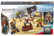 Mattel Mega Bloks 94305 - Assassins Creed - Pirate Crew Pack | 111 Teile | NEU |