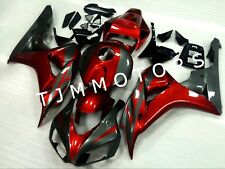 For CBR1000RR 2006 07 ABS Injection Mold Bodywork Fairing Kit Metallic Red Grey