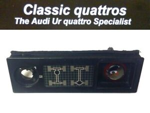 AUDI 200 QUATTRO  DIFFERENTIAL CONSOLE SWITCH PANEL  1983 to 1987  447919214