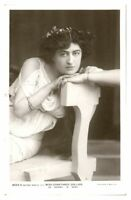 Antique RPPC postcard Constance Collier actress film stage theatre music hall