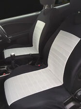 2 GREY FRONT SEAT COVERS PROTECTORS WITH BARS FOR MERCEDES E CLASS