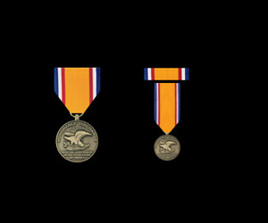 HONORABLE DISCHARGE COMMEMORATIVE MEDAL ARMY NAVY AIR FORCE MARINES US