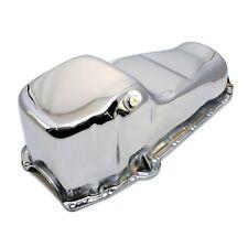 Chrome Oil Pan Stock Capacity 58-79 SBC Small Block Chevy 283 305 327 350 400
