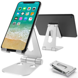 Universal Desk Stand Adjustable Holder Cradle Mount For iPhone Phone Tablet iPad