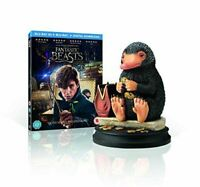 Fantastic Beasts E Where A Find Them - Edizione Limitata Niffler Statua Blu-Ray