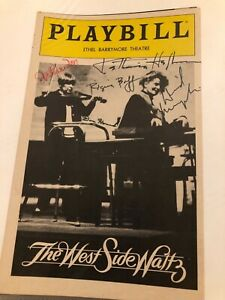 KATHARINE HEPBURN - Signed Autographed West Side Waltz Playbill Cover