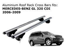 Aluminium Roof Rack Cross Bars fits MERCEDES BENZ GL 320 2006-2009