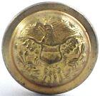 """Civil War Era Eagle & Shield 5/8"""" Domed Uniform Button Used"""