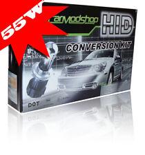 55W H4 Bi-Xenon HID Conversion Kit Slim Ballast Headlight Bulbs Pair For Seat