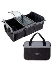 New Genuine Audi Trunk Organizer w/ Cooler Cargo OE ACMD101
