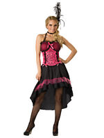 Saloon Gal Showgirl Can Can Dancer Burlesque Women Costume