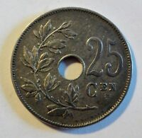 Belgique / Belgien - 25 Centimes - 1913 - ss-vz /vf-xf