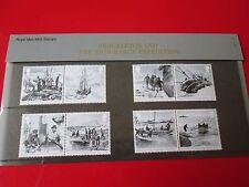 Shackleton Endurance Expedition Presentation Pack 8 STAMPS Royal Mail 2016