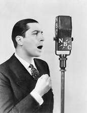 OLD NBC RADIO PHOTO Carlos Gardel Argentine Singer Heard Over The Nbc System