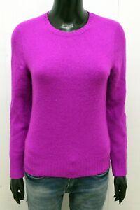 Maglione Donna Ralph Lauren Taglia M Pullover Lana Cashmere Women's Wool Sweater