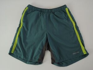 "Patagonia Men's NINE TRAILS Running SHORTS 8"" Inseam Arbor Green Size MEDIUM"