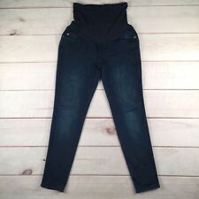 COH A Pea in the Pod Maternity Large Dark Secret Fit Full Panel Skinny Jeans