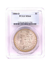 1884-O Morgan Silver Dollar PCGS MS 64