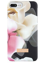 NEW Ted Baker Case for iPhone 7 Plus Porcelain -  Black Floral