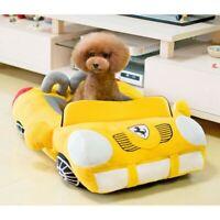 Pet Dog Cat Bed Puppy Cushion House Sports Car Shaped Warm Soft Kennel Sofa Pad