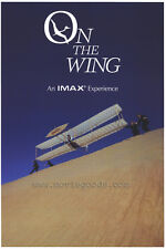 ON THE WING (IMAX) Movie POSTER 27x40