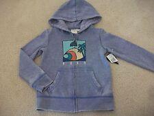 Girls size 5 Light purple ROXY BREAK IT DOWN zip up hoodie *BNWT* NEW Wave