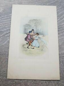 1900s ILLUSTRATED CHILDREN PLAYING P.T.L Art de Vienne NO 2184 Postcard