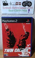 """Twin Caliber"" Ps2 PlayStation 2 Pal Esp. (Sin manual)"
