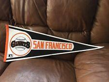 1982-92 San Francisco Giants Logo Baseball Vintage Pennant MLB SF California