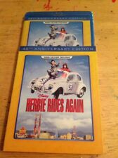 Herbie Rides Again (Blu-ray,40th Anniversary Edition )NEW Authentic Disney