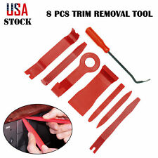 8 X Auto Car Panel Trim Clip Removal Tool Set Dashboard Door Gap Remover Kit Bar