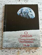 OMEGA SPEEDMASTER BOOKLET 861 INSTRUCTIONS