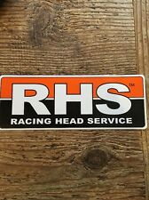 Racing Head Service NASCAR Racing Car Hot Rod Race Toolbox Decal Sticker Bumper