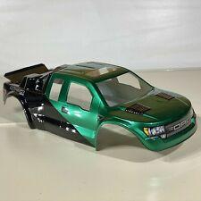 RC Traxxas Ford  Rustler VXL Jconcepts Tamiya  XL5 Metallic Green Black Custom