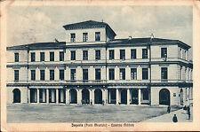 CARTOLINA IMPERIA PORTO MAURIZIO CASERMA MILITARE 1926 C4-310