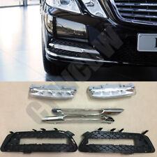 Fit Benz W212 E250 E300 E350 2009 to 13 DRL Daytime Running Light Fog Lamp LED