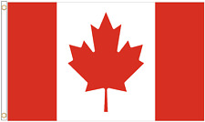 More details for canada polyester flag - choice of sizes