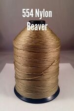 Bonded Nylon Thread 554 Beaver 16oz spool