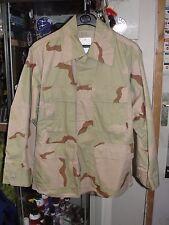 Veste US Army cam 3 COLORS DESERT neuve taille L-S Armée Américaine BDU jacket