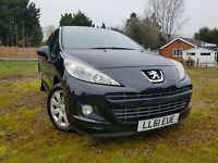 2011 PEUGEOT 207 1.4 ACTIVE 5 Door Petrol Hatchback Air Conditioning